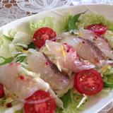 鯛と白菜のゆず胡椒サラダ