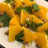 オレンジとピスタチオのサラダ