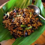 タイ風茄子の炒め物