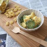 卵とツナのフラワーマカロニサラダ