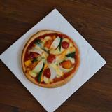 ビニール袋を使って作る簡単夏野菜ピザ