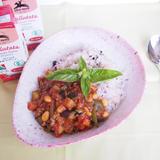 夏野菜とお豆のトマトドライカレー