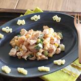 パスタと野菜のコロコロサラダ