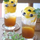 夏ドリンク オレンジマンゴーのティーソーダー