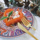 ハートトマトの前菜