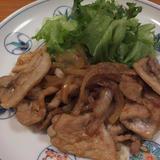 豚肉のしょうがみりん生姜焼き