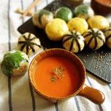 *生姜みりんのホッとトマトスープ*