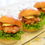 ママレード照焼きチキンバーガー