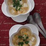 しょうがでぽかぽか卵スープ