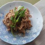 豚小間肉の生姜焼き