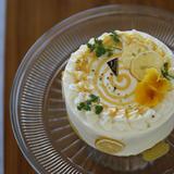 Lemon spiral cake