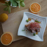 箕面特産柚子のさっぱりやわらか煮豚