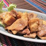 豚バラ肉と厚揚げの中華炒め