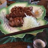 ハイライフポークを使用して・・・豚の味噌煮