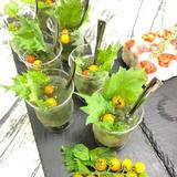 ■夏野菜 青じそとマイクロトマトのさっぱりゼリー