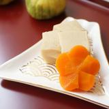 梅人参と高野豆腐の含め煮