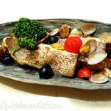 魚の切り身を使って作る本格アクアパッツァ
