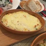 アボカド豆腐のグラタン
