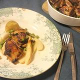 南部どりと春野菜のオーブン焼き