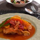 カチャトーラ🇮🇹鶏のトマト煮込み🍅
