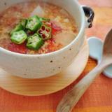 トマトと玉ねぎの味噌スープ