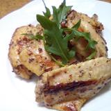 鶏スペアリブの粒マスタードソース