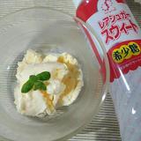 ピーチアイスクリーム