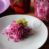 レアシュガーで紫キャベツの甘酢漬け