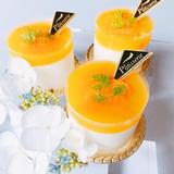 塩麹オレンジヨーグルトムース