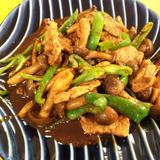 レアシュガースウィートで「豚肉と野菜の味噌炒め」