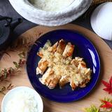 鶏肉の梨ソース煮