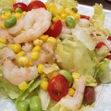 ぷりっぷり海老サラダ