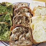 抹茶デニッシュ食パン