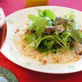 帆立のリースサラダ