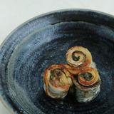 太刀魚の梅みそ巻