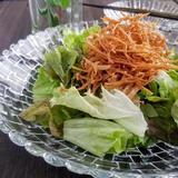 カリカリえのきの梅サラダ