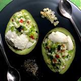 アボカドと木綿豆腐のメキシカンサルサ