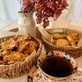 酵母のコーンフレーククッキー
