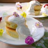 牛乳パックで作る♪紅茶のホットケーキ