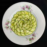 ズッキーニの簡単サラダ