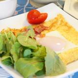 のんびり朝にクレープ食べよう💕