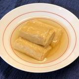 乾燥湯葉の薄炊き(精進料理)