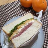 食パンアレンジ~柿とチーズ~