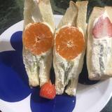 フルーツフラワーサンド