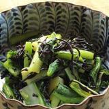 青菜とひじきの和え物