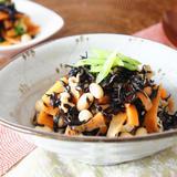 簡単常備菜「レンチンひじき煮」