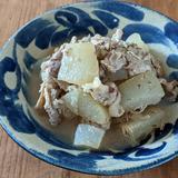 冬瓜と豚バラ肉の味噌煮