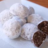 【簡単!さくほろ】ココアのスノーボールクッキー