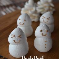 ♪メレンゲの作り方★雪だるま&もみの木★