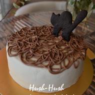 ★大人かわいいハロウィンケーキ★デビルズフードケーキ